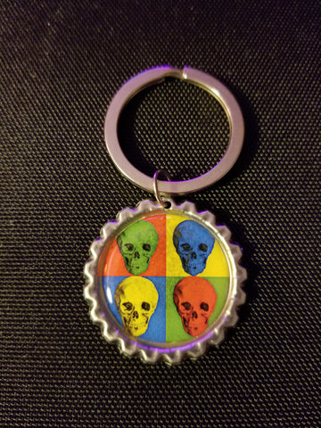 Pop Death Key Chain
