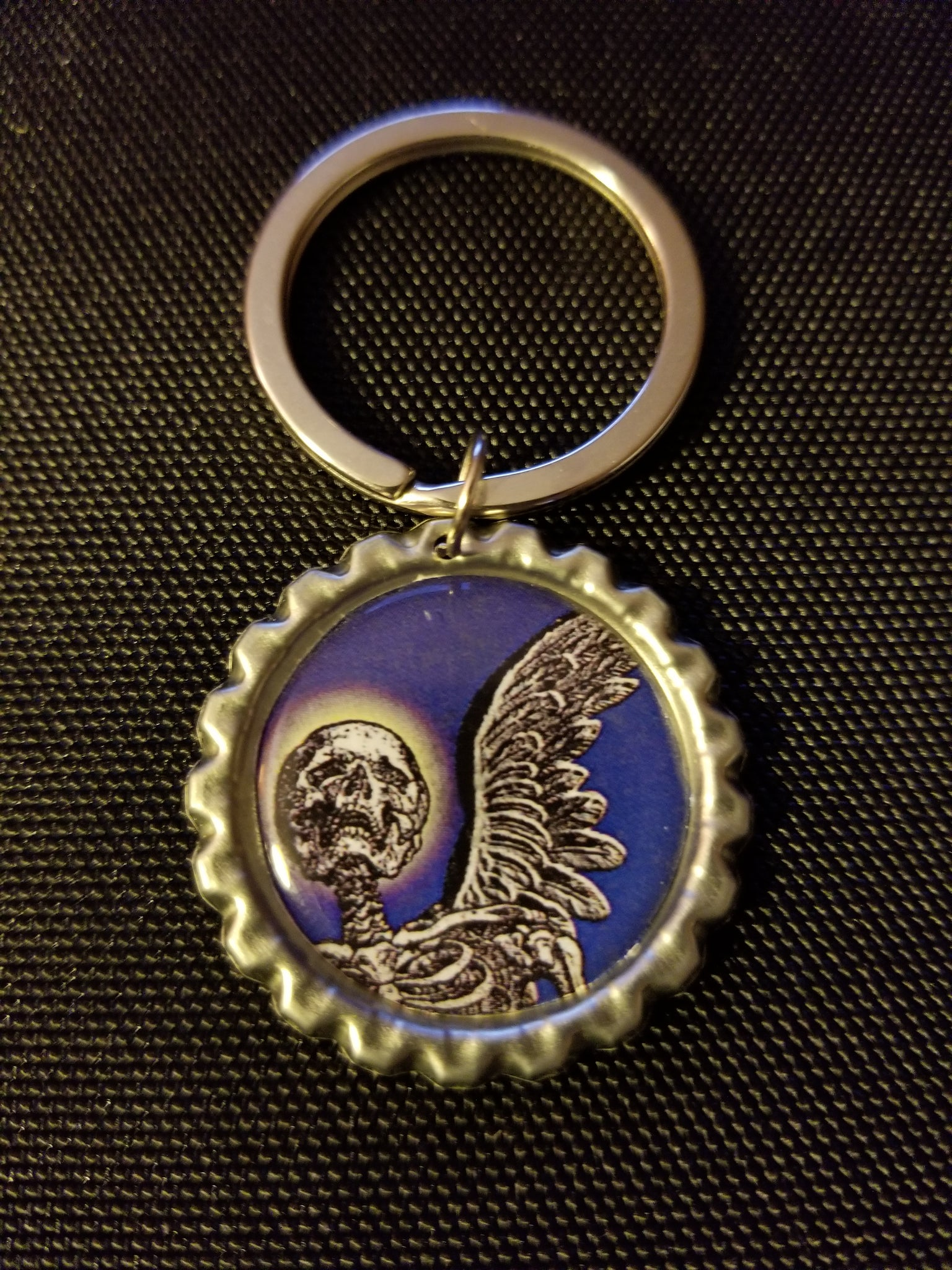 Angel of Death Key Chain