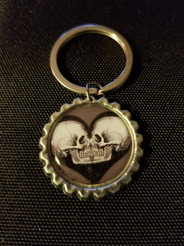 Argent Eternal Love Key Chain