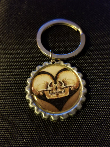 Antique Eternal Love Key Chain