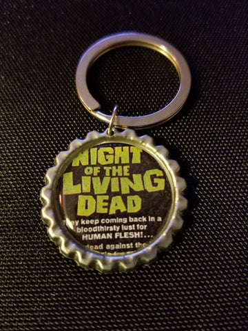 Night of the Living Dead Key Chain