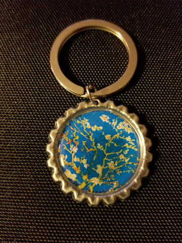 Almond Blossoms Key Chain