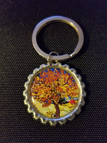 Mulberry Tree Key Chain
