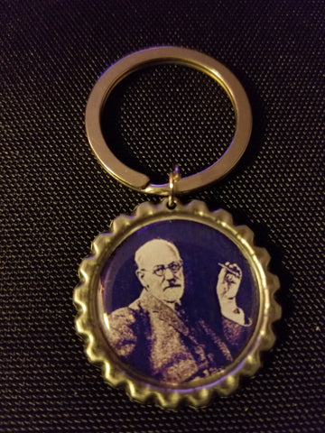 Lila Freud Key Chain