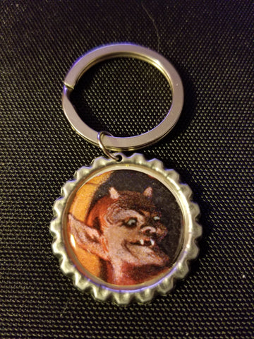 The Happy Demon Key Chain