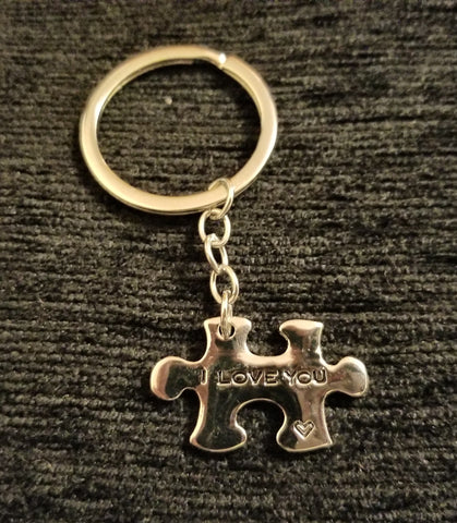 Puzzle Key Chain