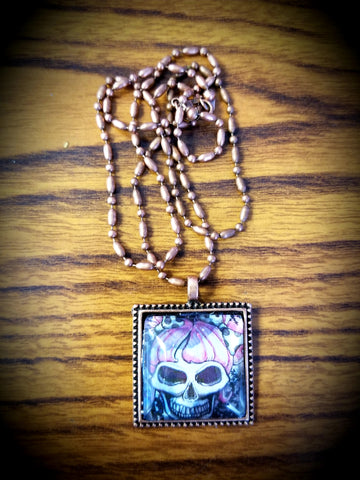 Deadly Dottie Cabochon Necklace