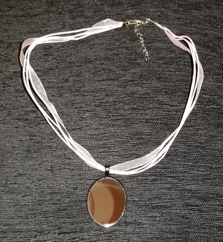 Mirrored Alternate Universe Cameo Necklace