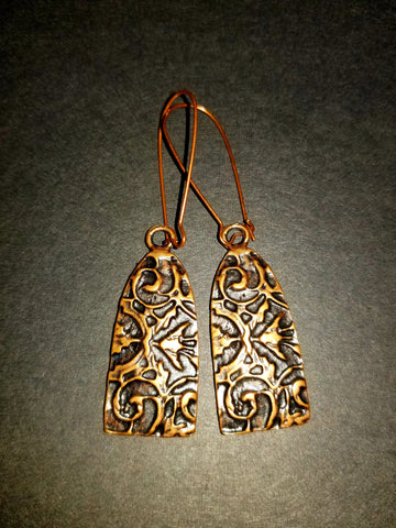 Gaul Antique Copper Earrings