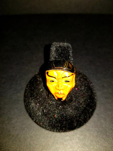 Asian Mask Ring