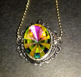 Rivoli Starburst Necklace