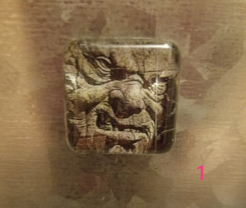 Gargoyle Cabochon Magnets