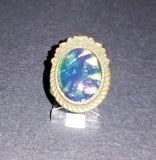 Belle Peacock Cabochon Ring