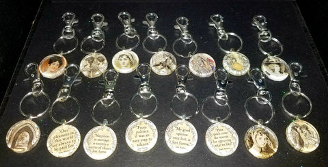 Jane Austen Key Chains