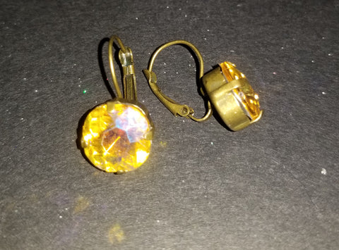 Topaz AB Earrings
