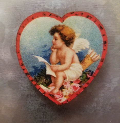 Cupid Heart Magnet
