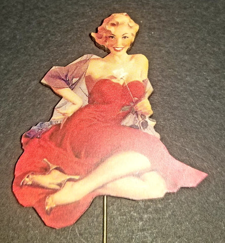 Pinup Girl Stick Pin