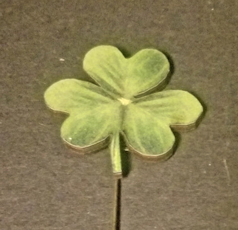 Shamrock Stick Pin