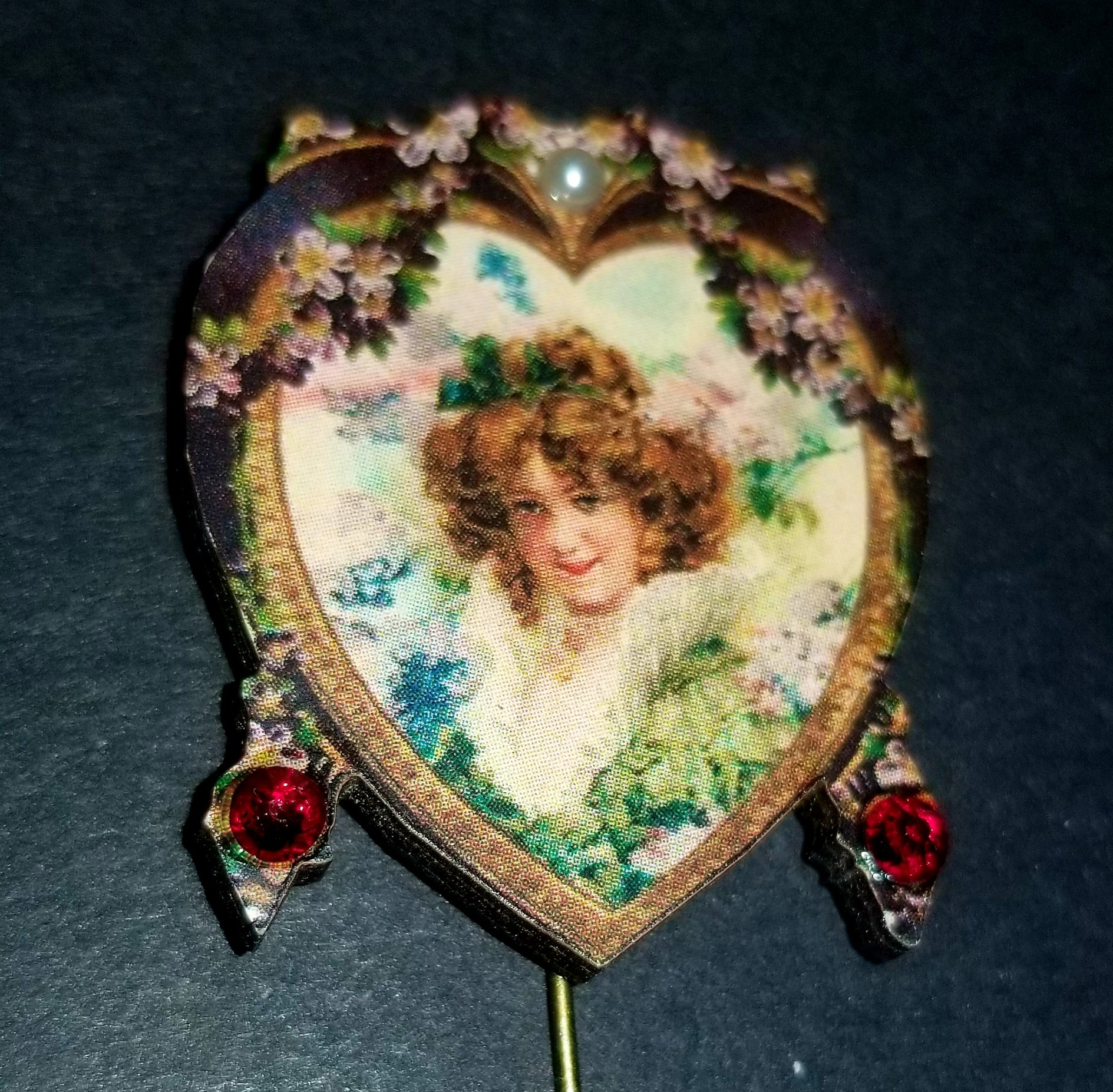 18th Century Lady Stick Pin