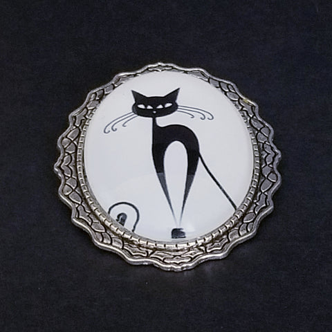 Fifi Le Chat Noir Brooch