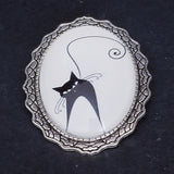 Henri Le Chat Noir Brooch