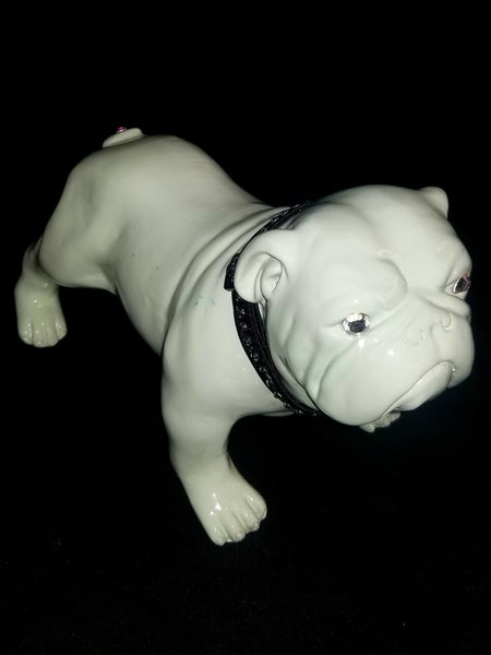 Mintie The Bulldog Pup Statue