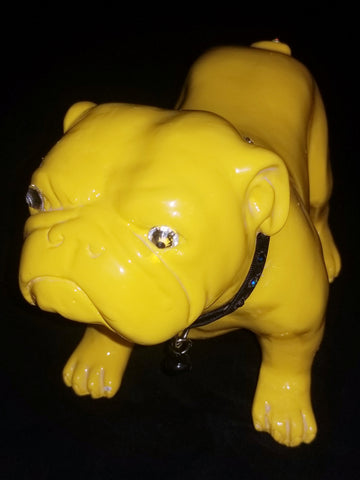 Lemon The Bulldog Pup Statue