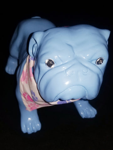 Periwinkle The Bulldog Pup Statue