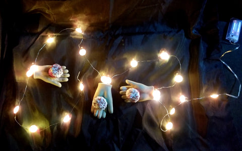 Dismembered Doll Hands Garland