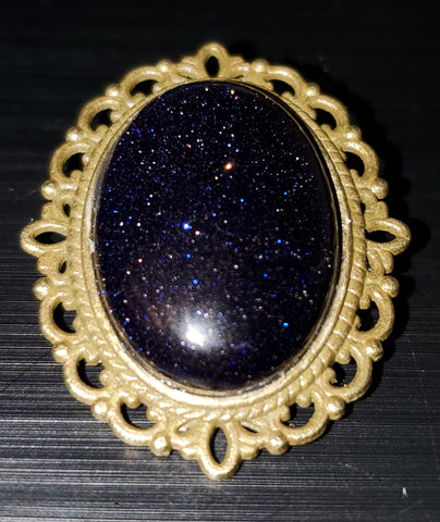 Dark Cosmos Brooch