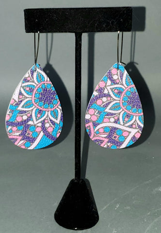 Brite Paisley Drop Earrings