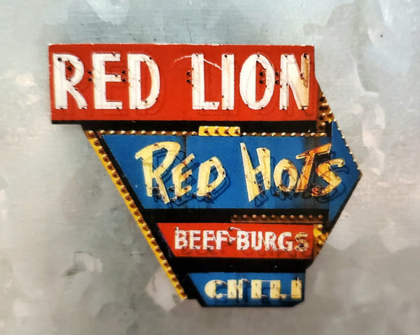 Retro Neon Sign Magnets