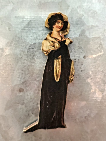 Regency Fashion Model magnet