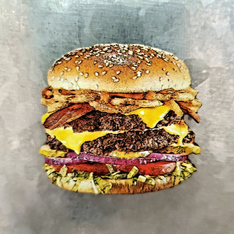 Cheeseburger magnet