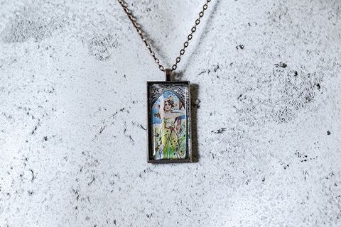 Brightness of Day Cabochon Necklace