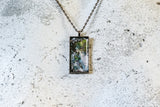 La Plume Cabochon Necklace