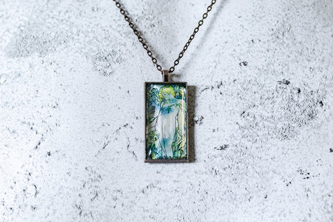The Iris Cabochon Necklace