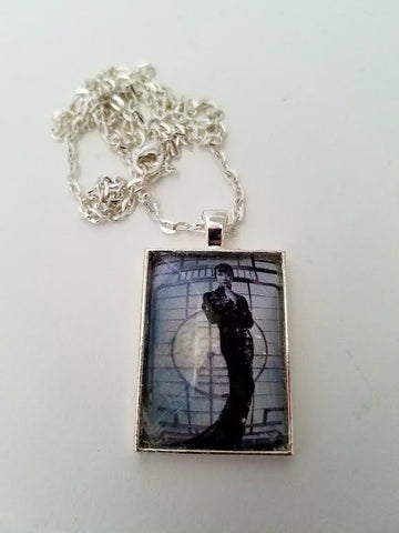 Anna May Wong - Dragon Dress Cabochon Necklace