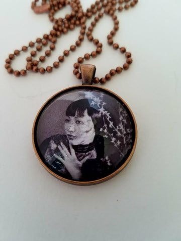 Anna May Wong 1929 Cabochon Necklace