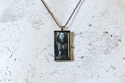 Dark Journey Cabochon Necklace