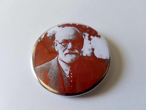 Sigmund Freud 1937 Button