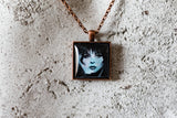 Mistress of the Dark Cabochon Necklace