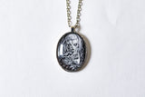 Dead Alice Cabochon Necklace