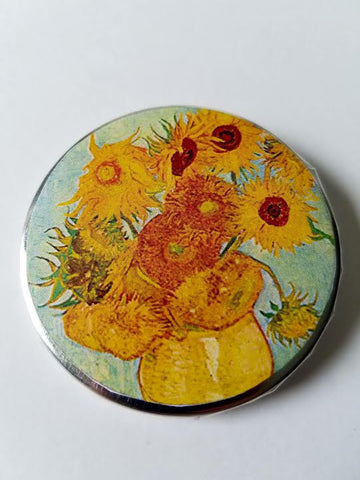 Sunflowers Button