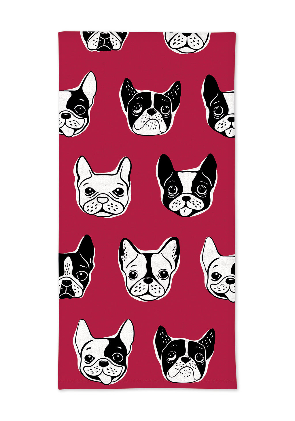 "MUkitchen Cotton Oversized Kitchen Towel, 20 by 30"", Canine Dogs"