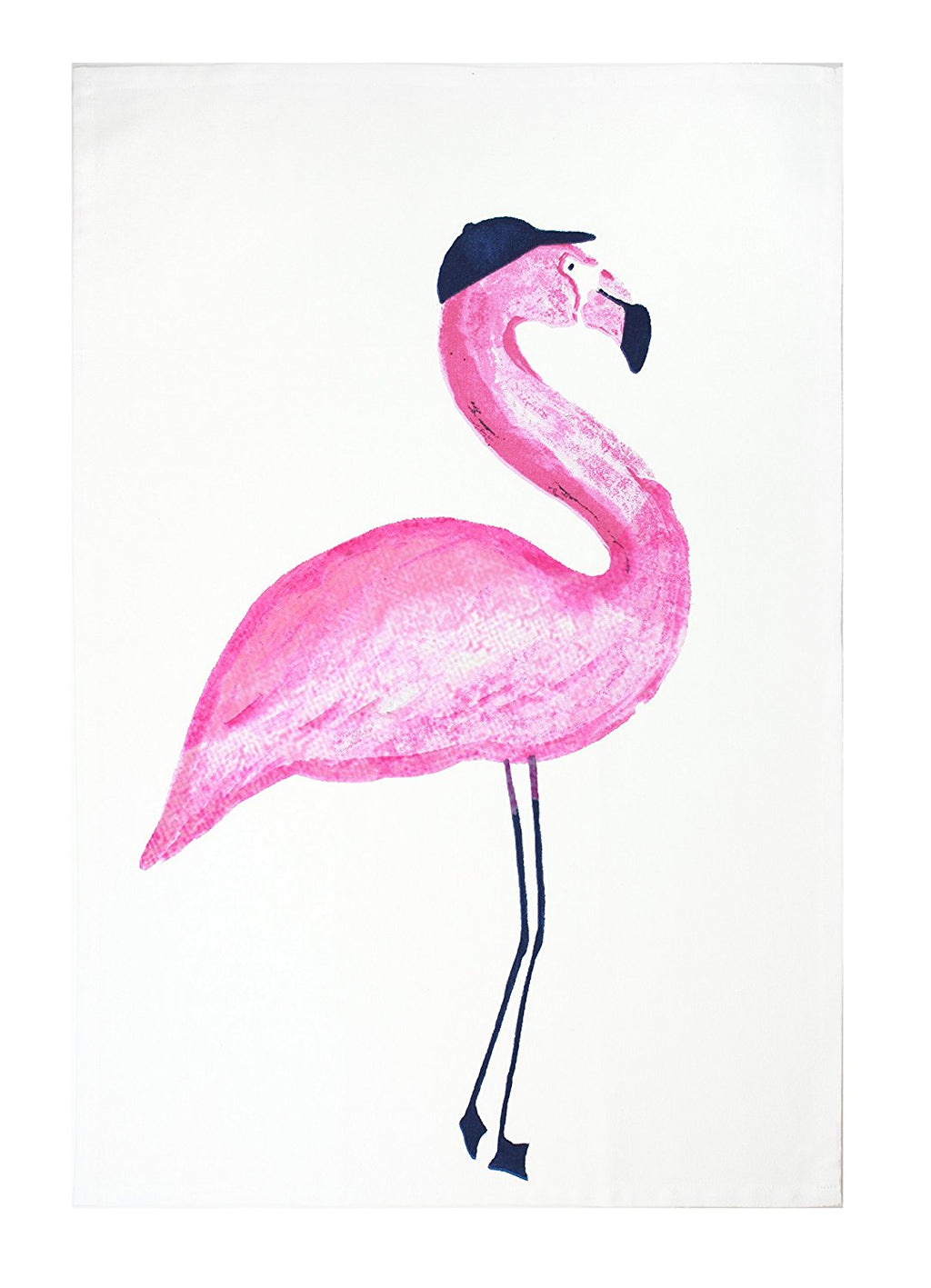 "MUkitchen 100% Cotton Oversized Designer Kitchen Towel, 20 by 30"", Flamingo"