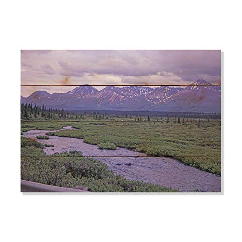 Montana Mottly Photos Purple Mountain Majesty Alaska  Picture Wall Hanging