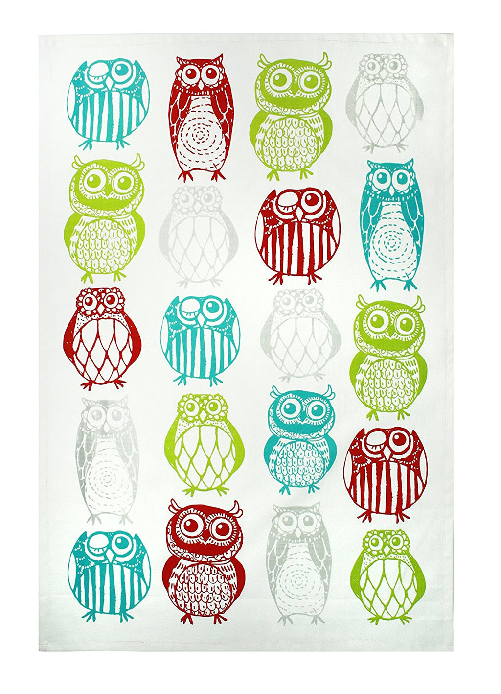 MUkitchen 100% Cotton Oversized Designer Kitchen Towel, Cats - 20 x 30 inches
