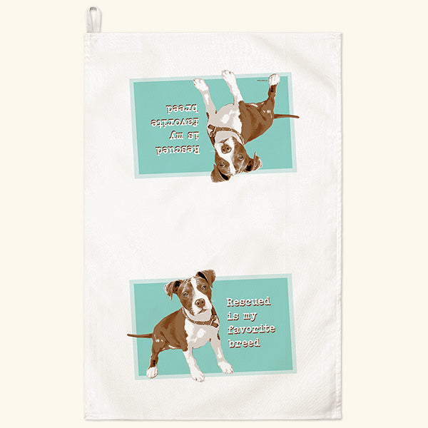Fiddler's Elbow Pitbull Kitchen Towel