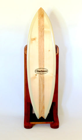 The Shark Durham Handcrafted Longboard